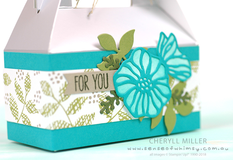 Close Up of Gift Box