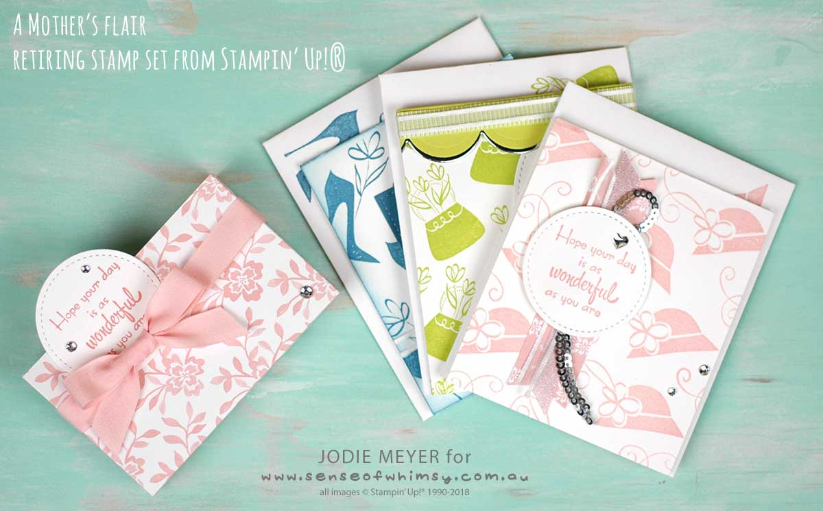 A Mothers Flair Notecards