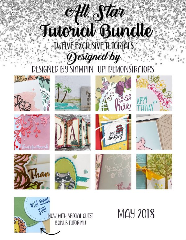 All Stars Tutorial Bundle Blog Hop
