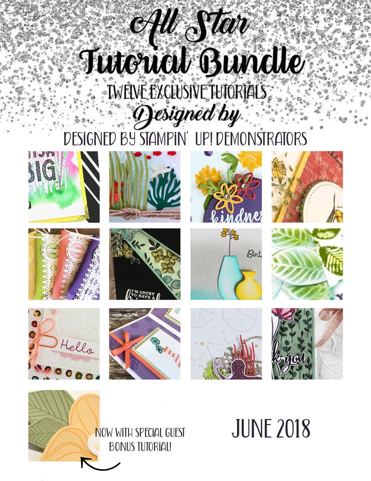 Sneak Peek June Tutorials