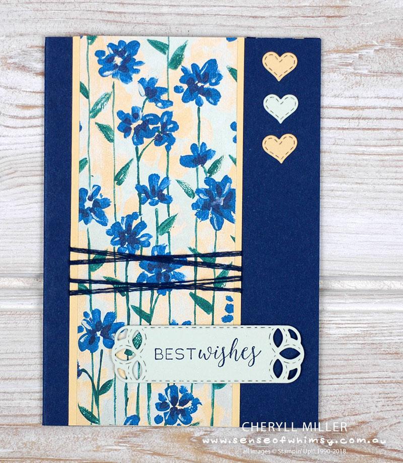 Card No 1 Flower Garden Wishes