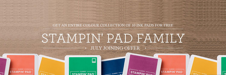 Ink Pad Offer Header