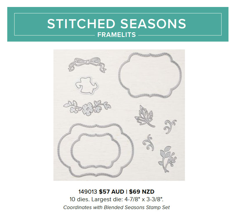 Stitched Seasons Framelits