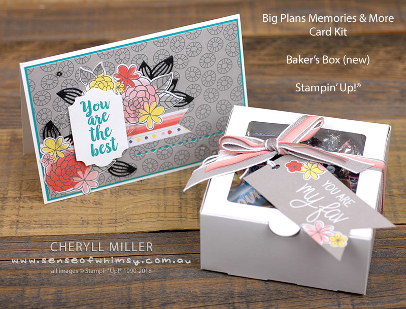 Big Plans Card and Gift Tag