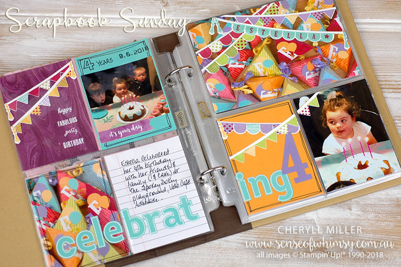 Scrapbook Sunday Layout