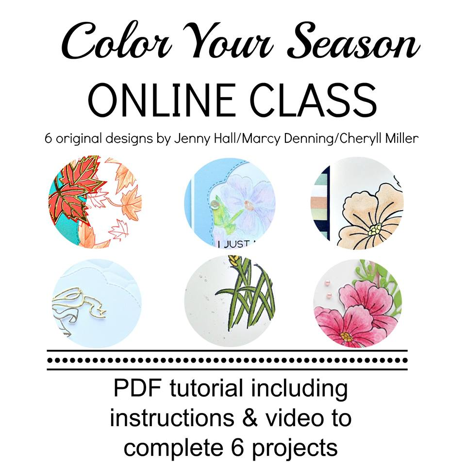 Colour Your Season Online Class