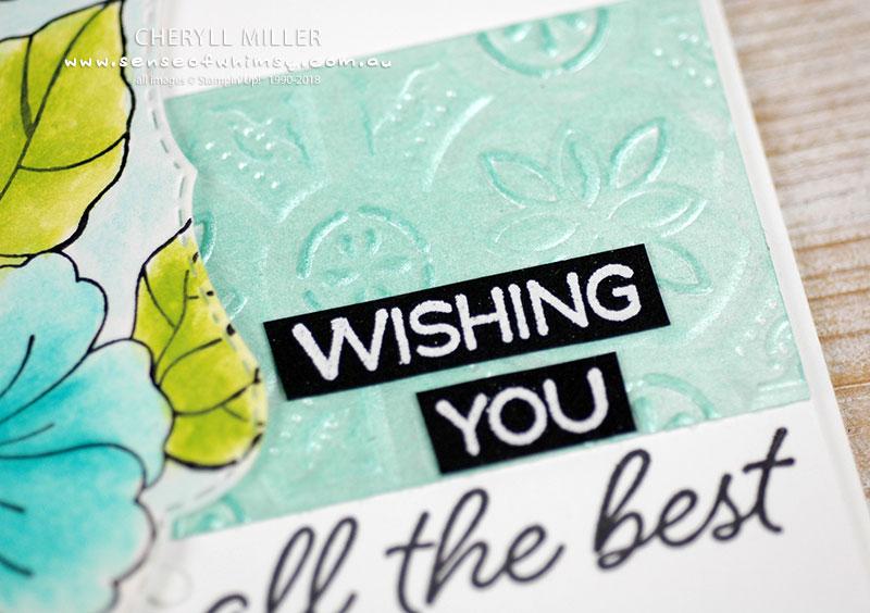 Tin Tile Embossing Folder