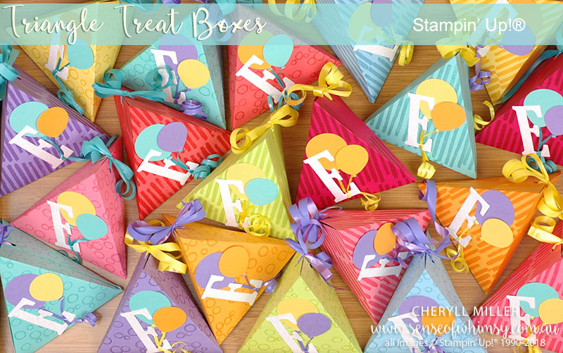 Triangle Treat Boxes