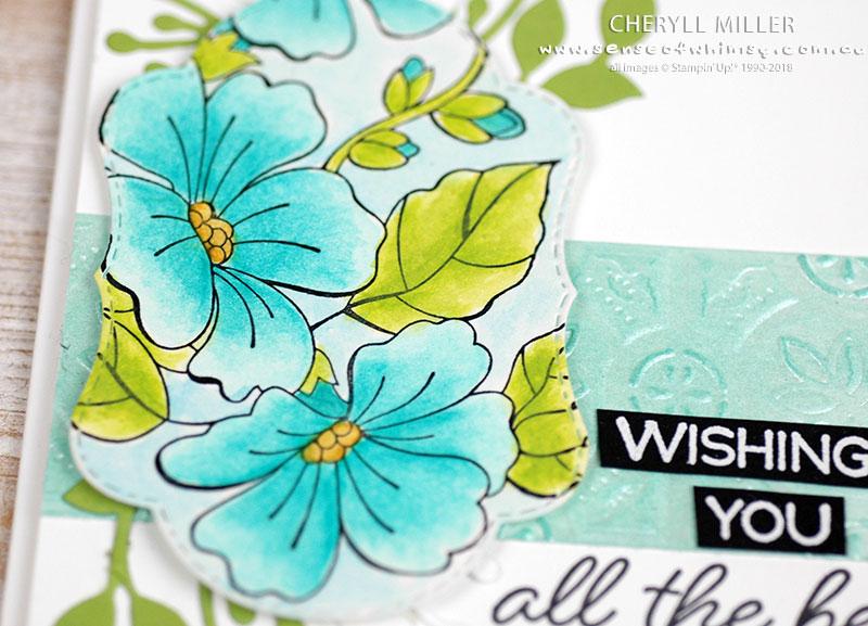 Watercoloured Flowers Blended Season