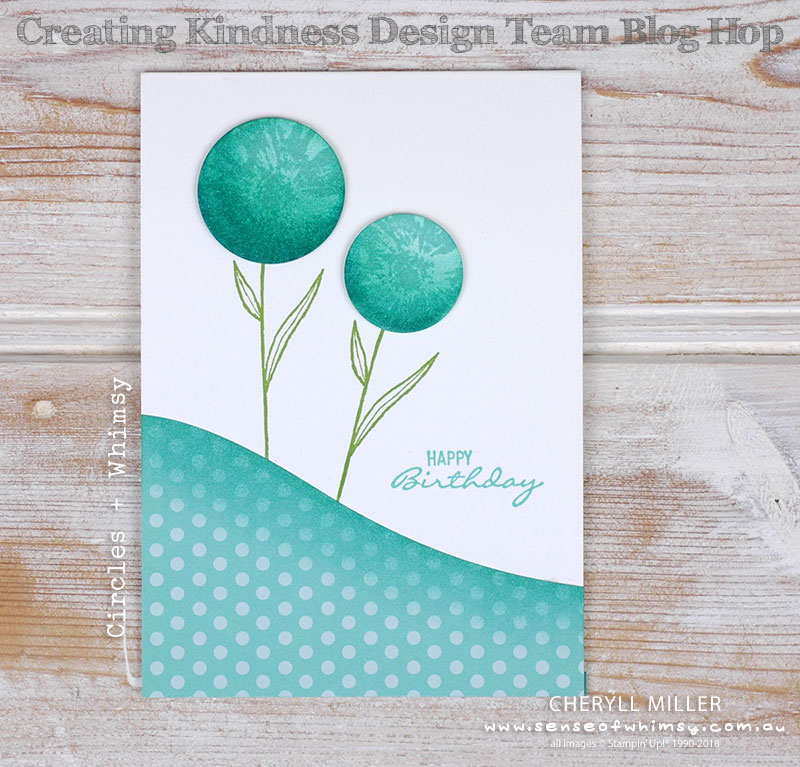 Touches of Texture for Creating Kindness Blog Hop