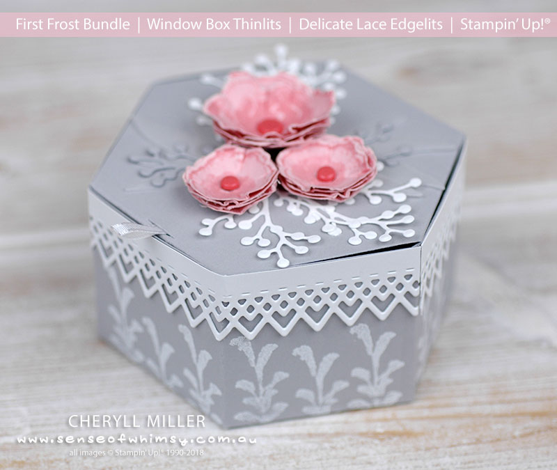 Window Box Thinlits Gift Box