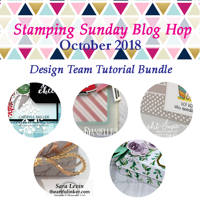 Stamping Sunday Tutorial Bundle October