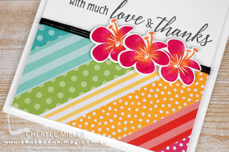 Tropical Bright Designer Series Paper