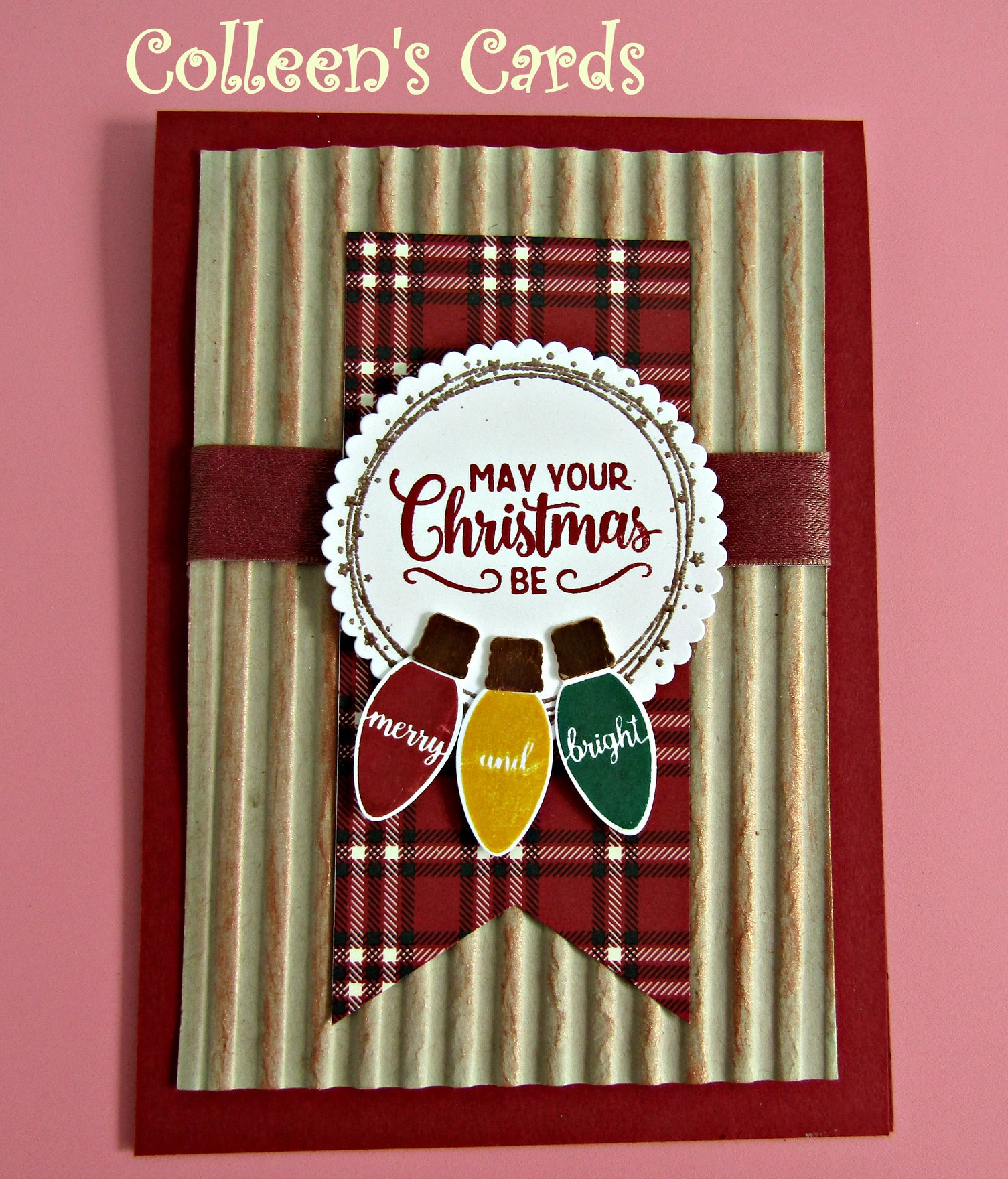 Corrugated Embossing Folder Colleen Johnson