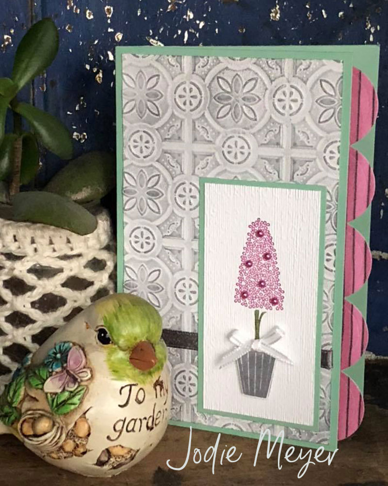 Tin Tile Embossing Folder Jodie Meyer