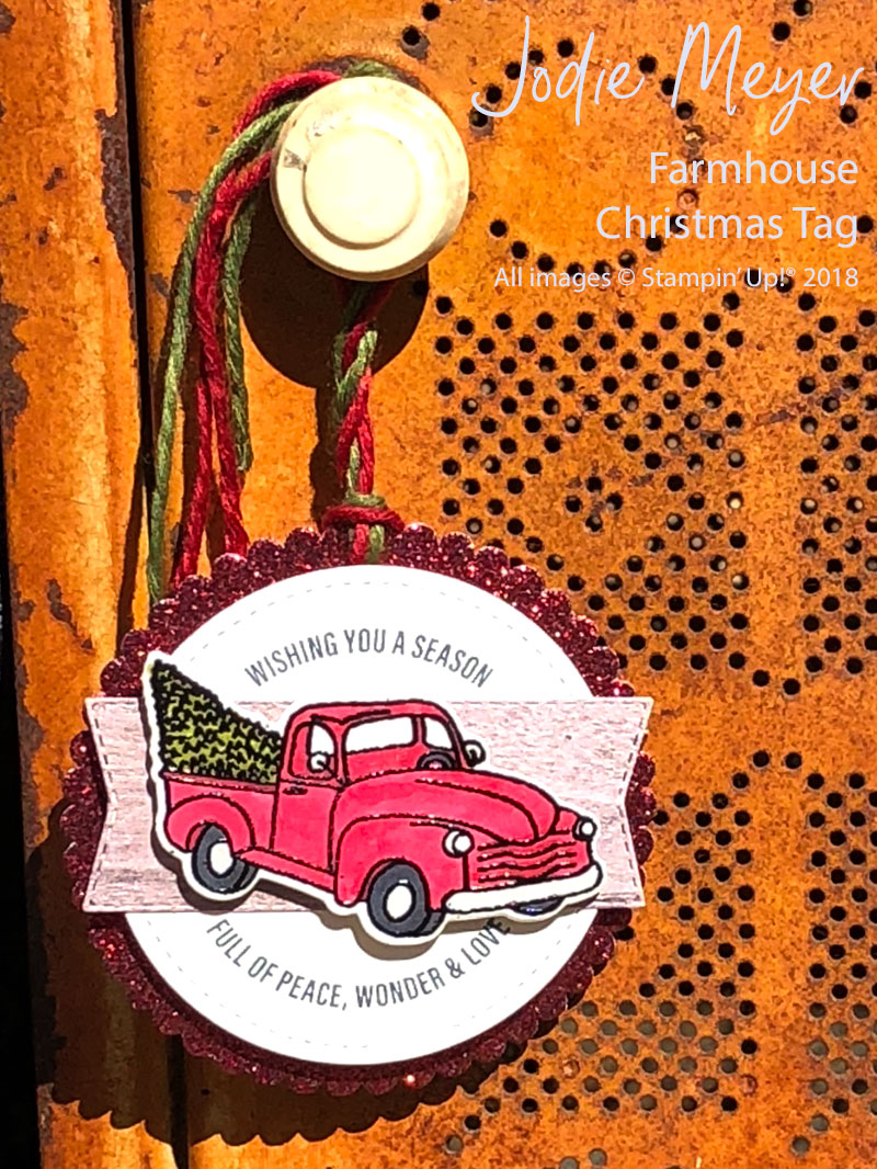 Jodie Farmhouse Christmas Tag