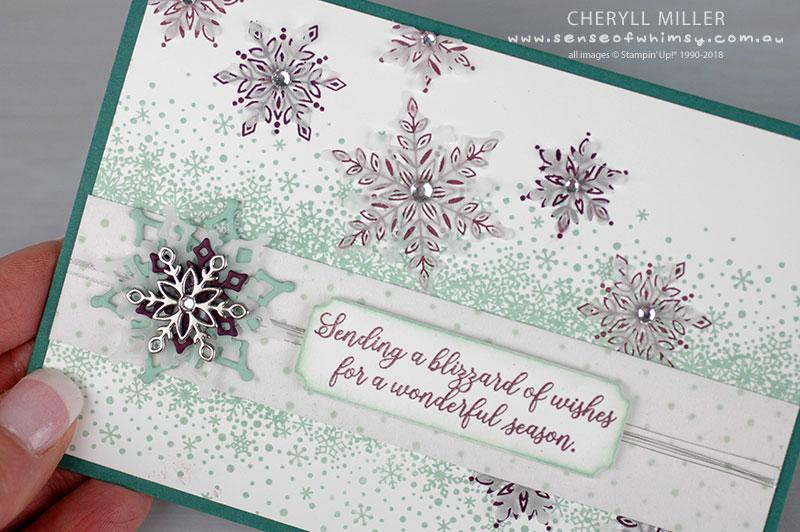 White Vellum Snowflakes