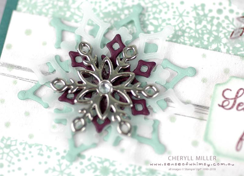 Snowflake Medallion Embellishment