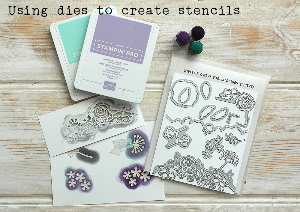 Using Dies to Create Stencils