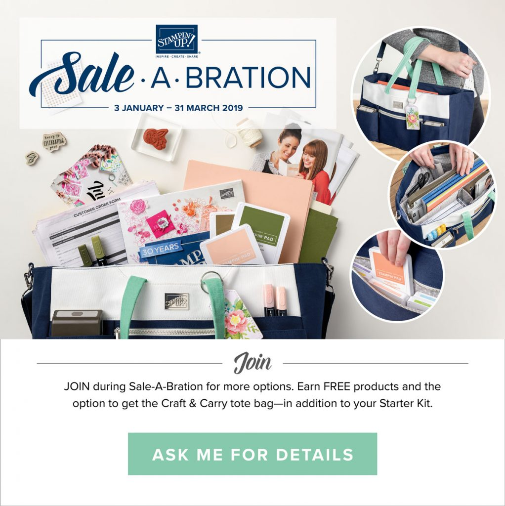 Sale-A-Bration Joining Special