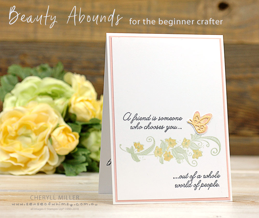 Beauty Abounds for the Beginner Crafter