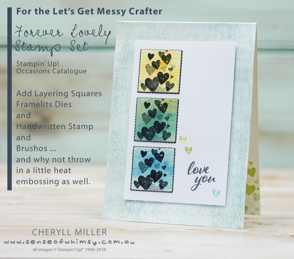 For the Let's get messy crafter