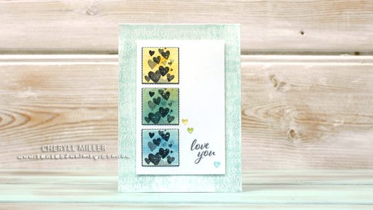 Stamping Sunday All My Love Suite