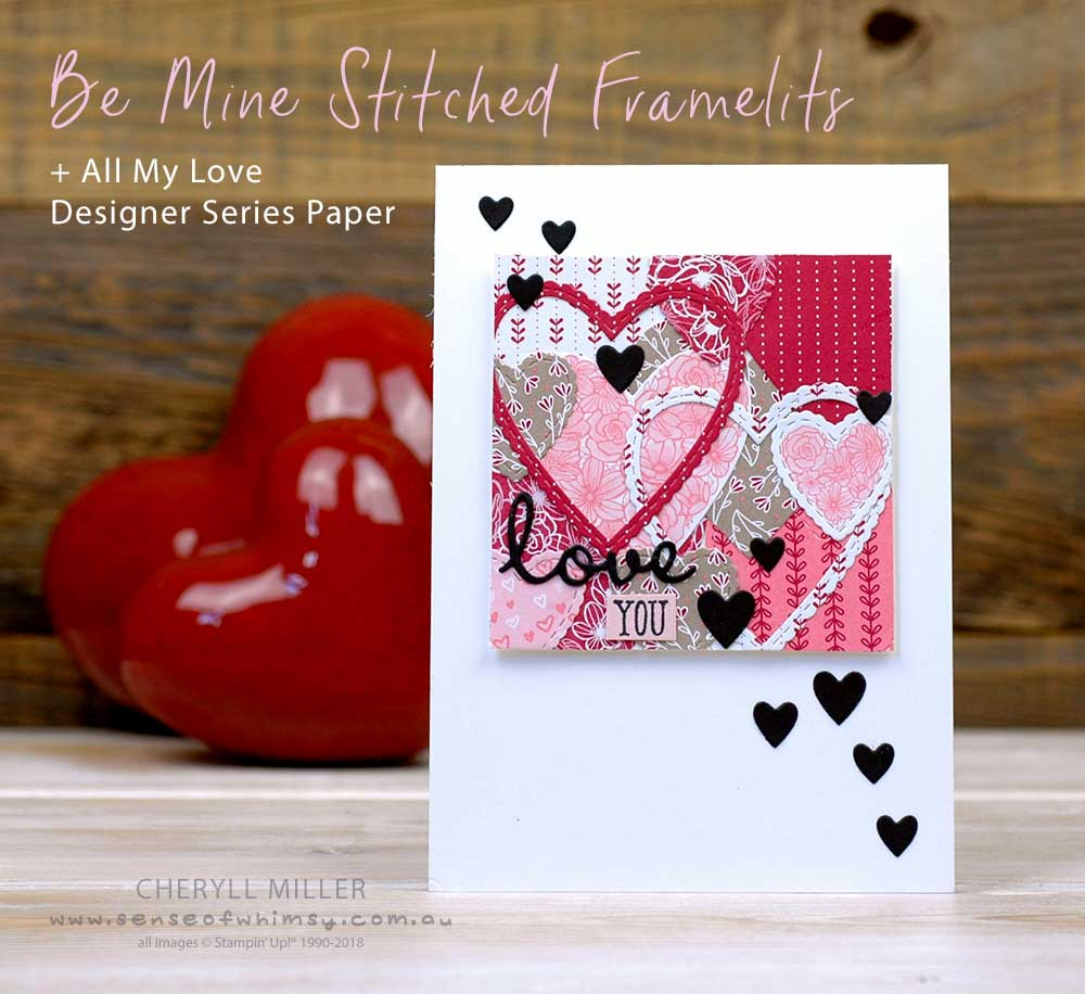 Be Mine Stitched Framelits Dies