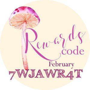February Rewards Code