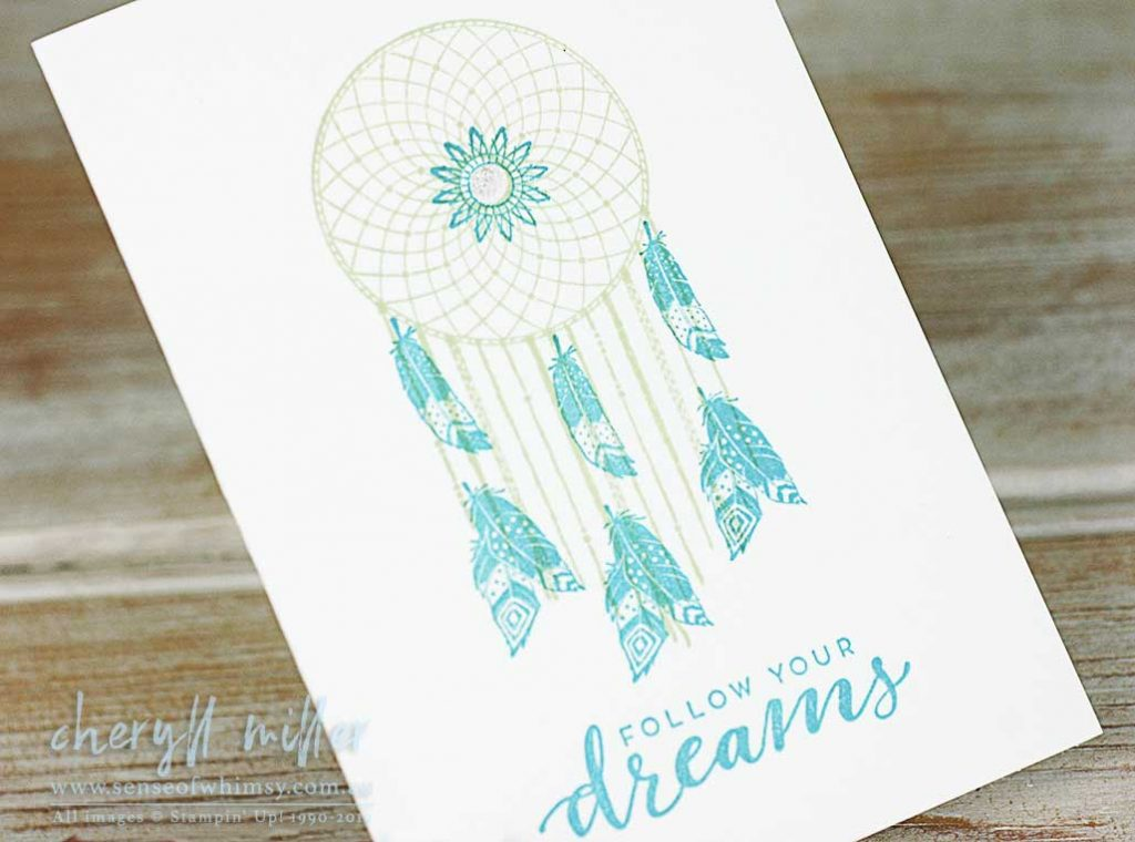 Follow Your Dreams for the Beginner Stamper