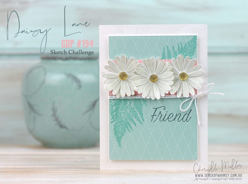 Daisy Lane Stamp Set for Global Design Project 194