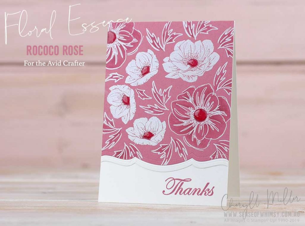 Floral Essence for the Avid Crafter