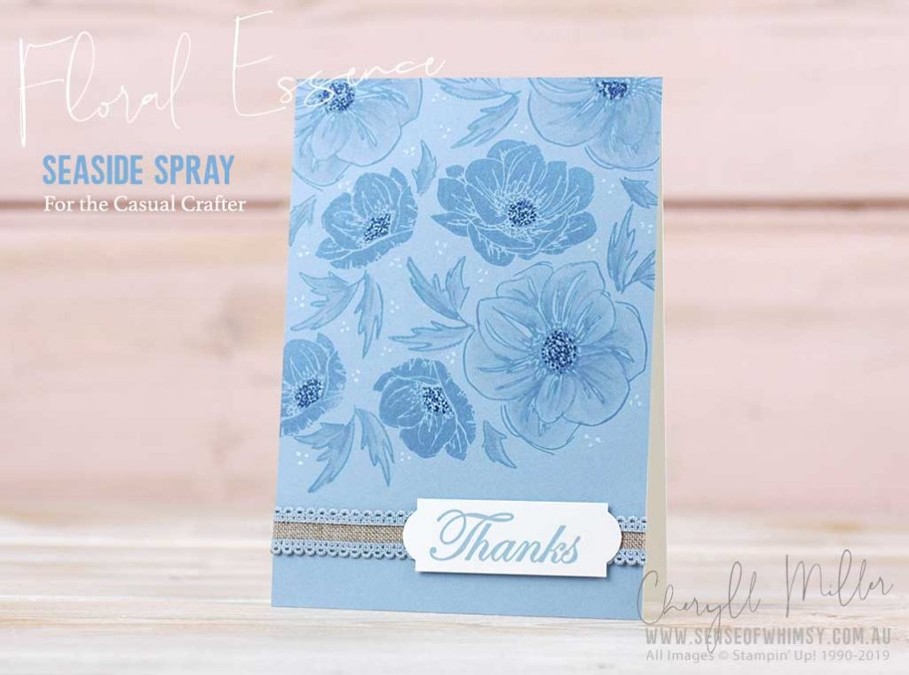 Floral Essence for the Casual Crafter