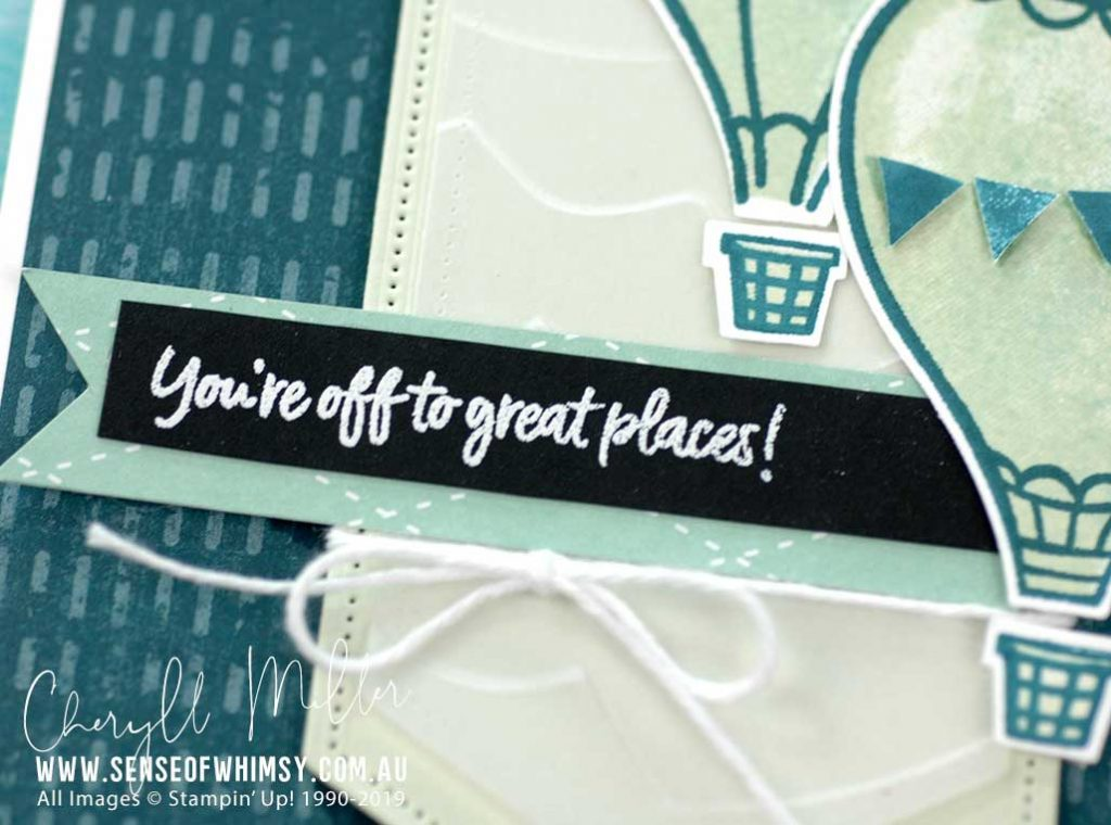 Stamping Sunday Blog Hop Above the Clouds - Sense of Whimsy