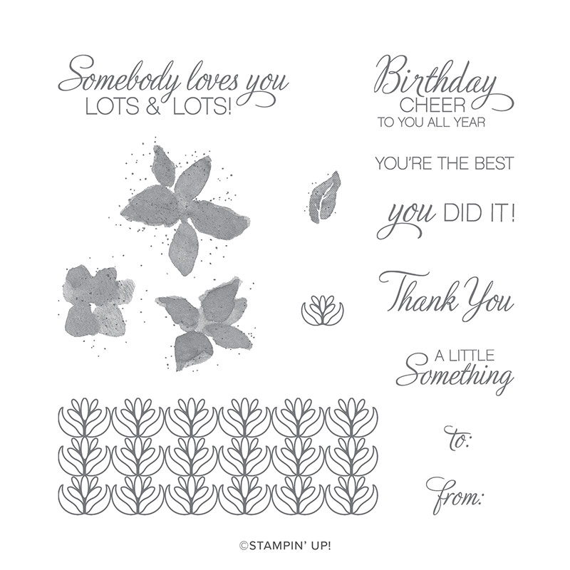 Parcels and Petals Stamp Set