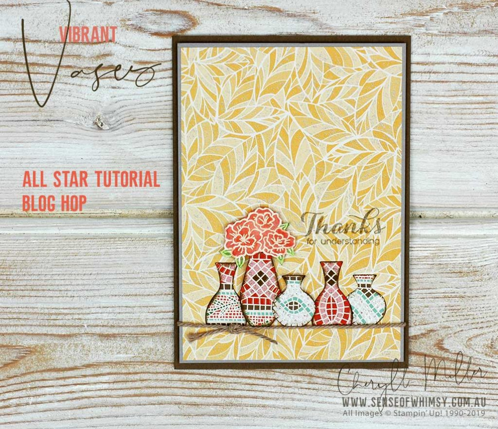 Vibrant Vases for All Star Tutorial Bundle Blog Hop