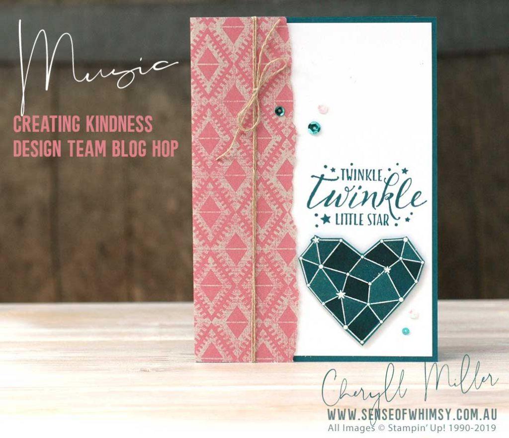 Creating Kindness Design Team Blog Hop Music