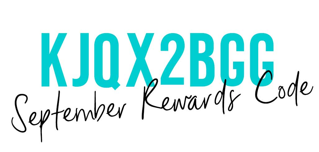 September Rewards Code