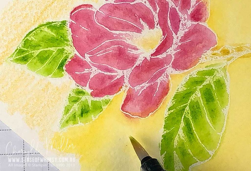 Watercolour the Background