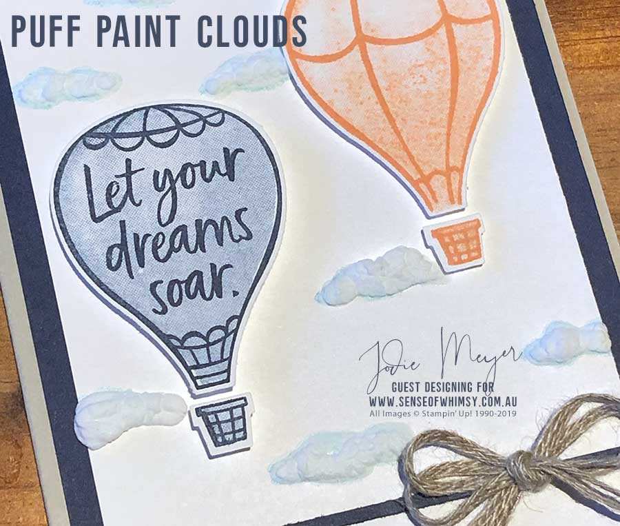 Puff Paint Clouds