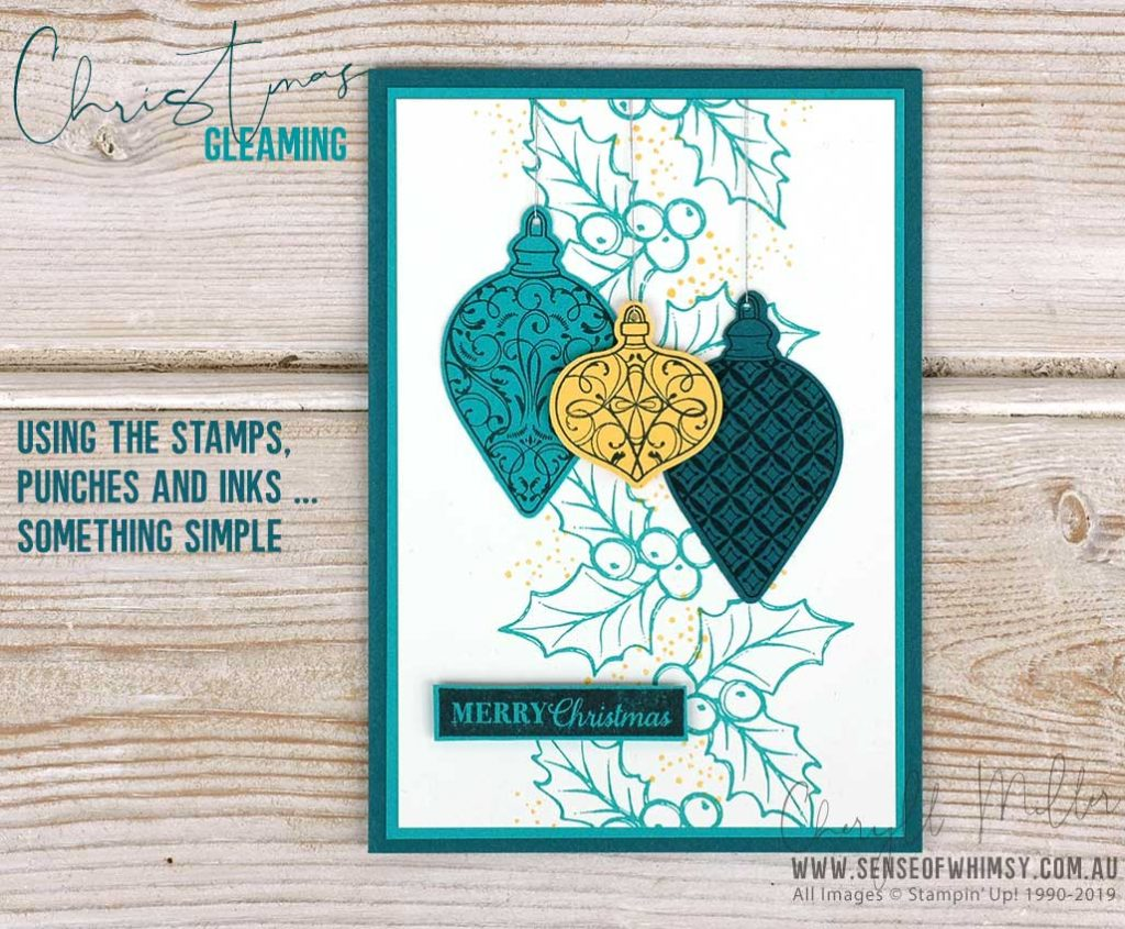 Brightly Gleaming Beginner Card