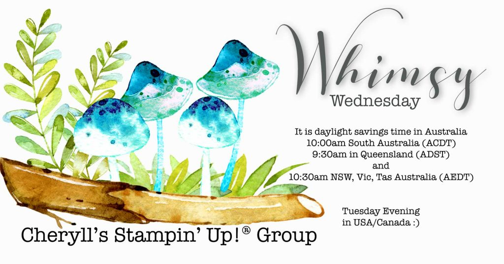 Cheryll's Stampin' Up! Group