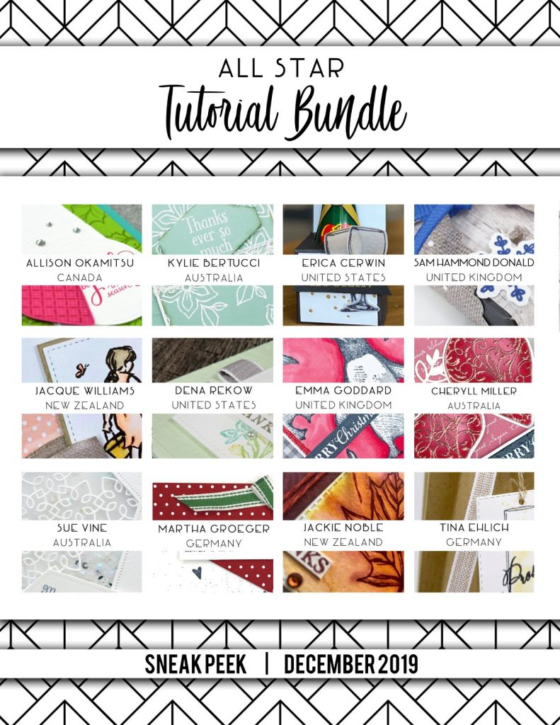 All Star Tutorial Bundle December