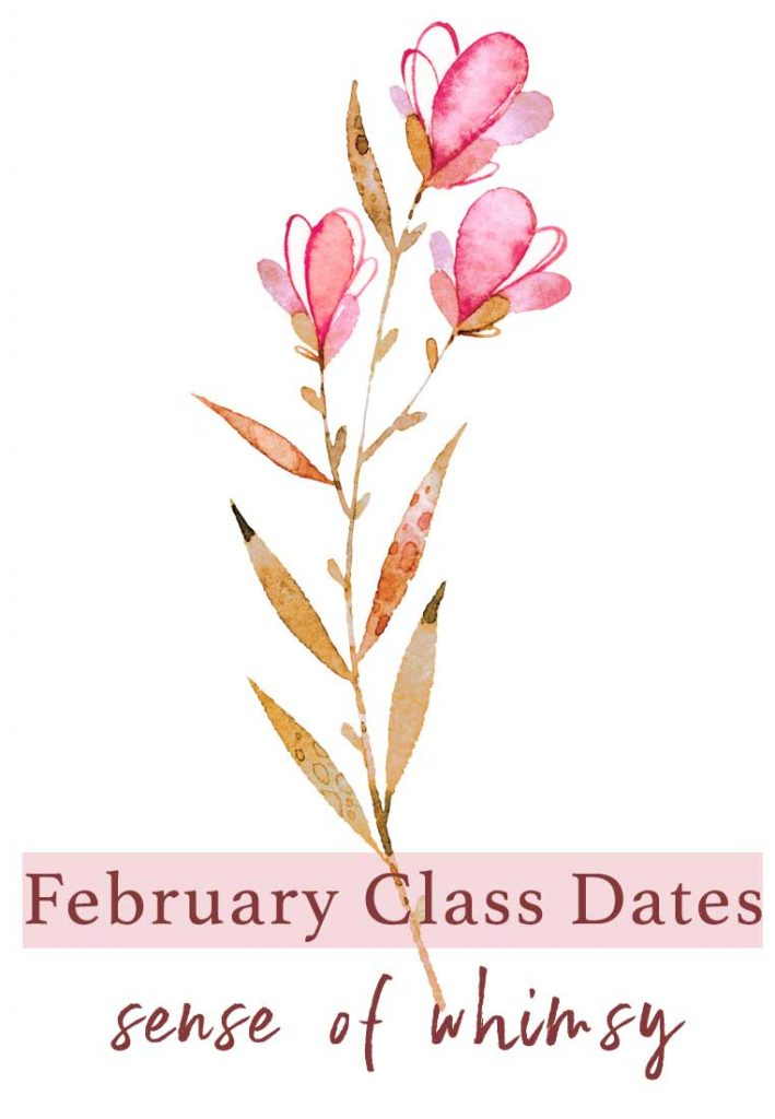 February Card Class