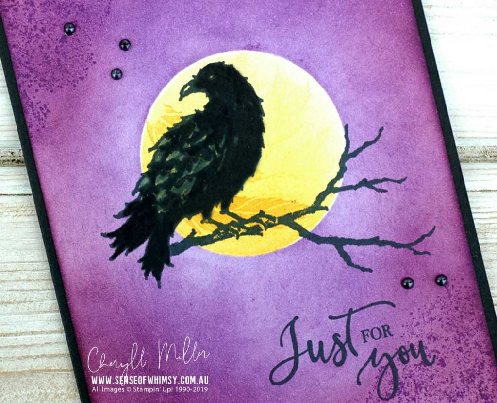 The Raven Avid Card Close