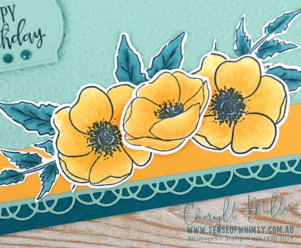 Painted Poppies Bundle Colour Inspiration #70