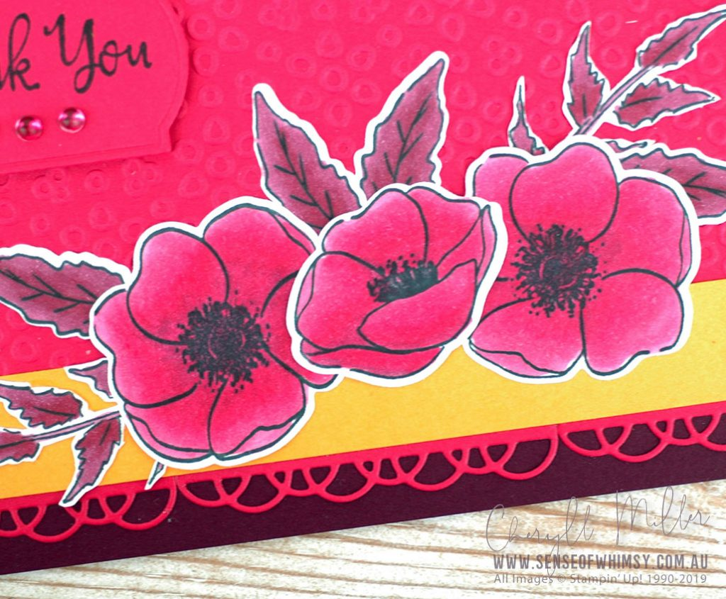 Painted Poppies Bundle for Colour Inkspiraton #70
