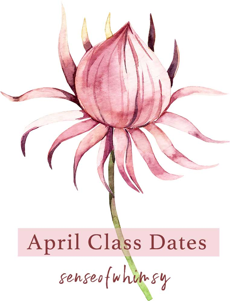 April Class Dates