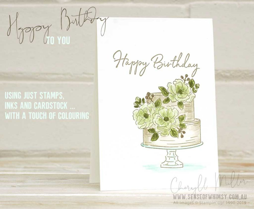 Sale-A-Bration Happy Birthday To You