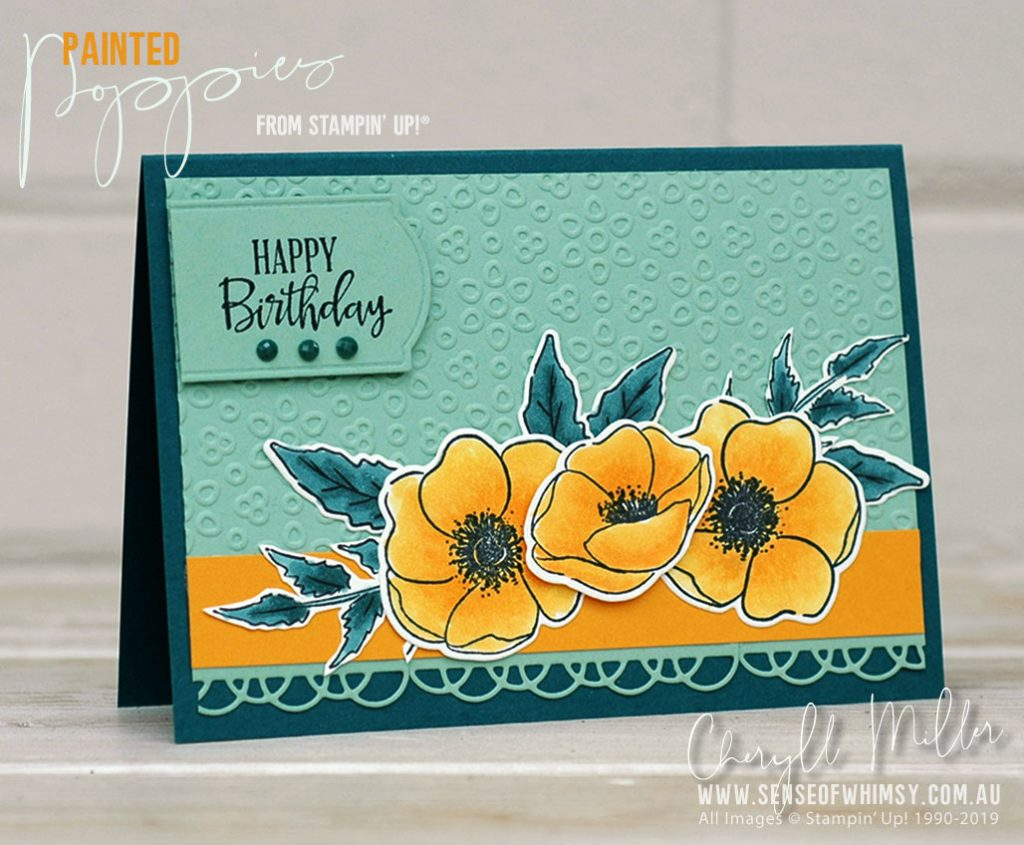 Painted Poppies Bundle Colour Inkspiration #70